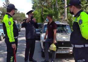 Zərdabda yol polisi reyd keçirib