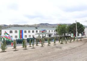 В Губадлы и Лачине начали функционировать новые воинские части