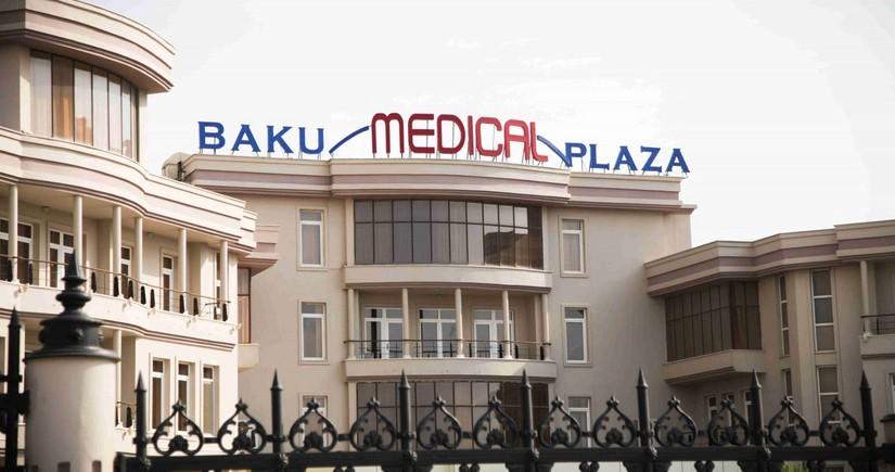 """""""Baku Medical Plaza""""da qadın həkim qarət olundu"""