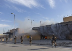 Several rockets fired at US military base in Baghdad