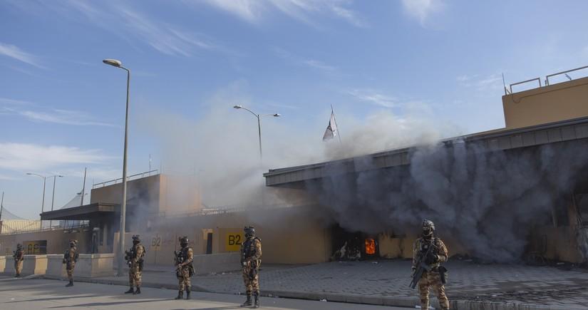 ABŞ-ın Bağdaddakı hərbi bazası raket atəşinə məruz qaldı