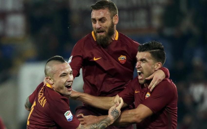 Чемпионат Италии: Рома победила Милан и вышла на второе место