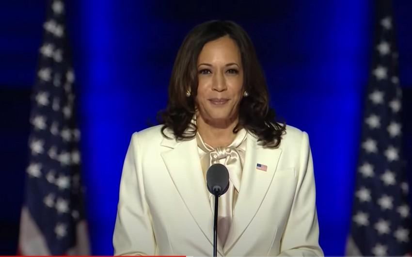 Kamala Harris seçkilərin nəticələrini Amerika üçün yeni gün adlandırdı