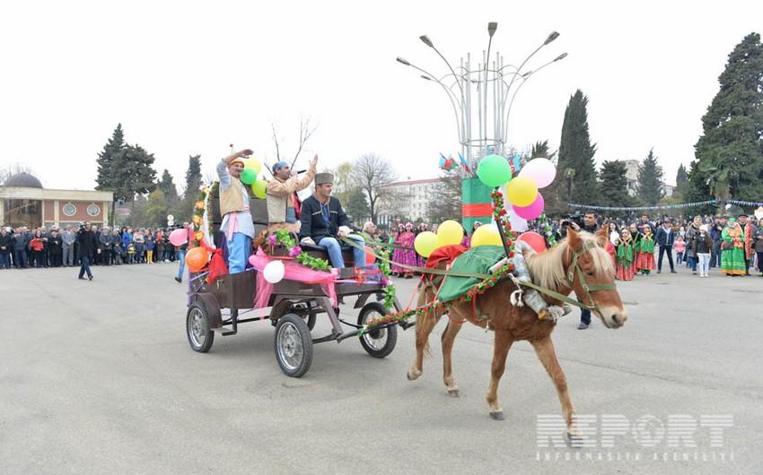 Lənkəranda Novruz bayramı qeyd olunub - FOTO