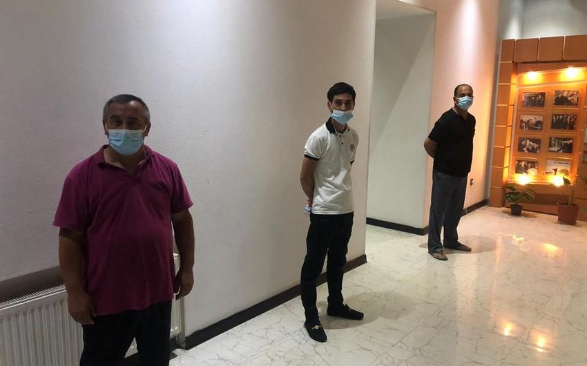 """Bakıda """"Qarabağ"""" kafesinin icarədarı saxlanıldı"""