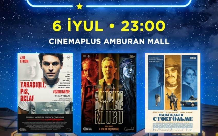 """Bakıda """"Kino Gecəsi"""" keçiriləcək - VİDEO"""