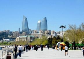Azərbaycana turist axını sentyabrda 2 dəfə artıb
