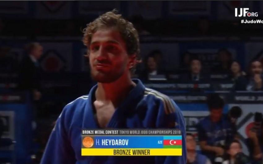 Azərbaycanın cüdo yığması dünya çempionatında ilk medalını qazanıb