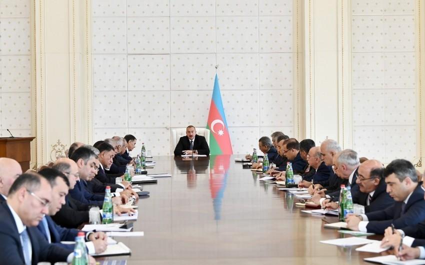 Azərbaycan Prezidenti: Ermənistanın yeni rəhbərliyi öz siyasətində konstruktivlik nümayiş etdirməlidir