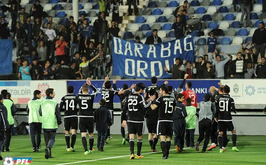 Qarabağ 5 qat Azərbaycan çempionu olub - VİDEO
