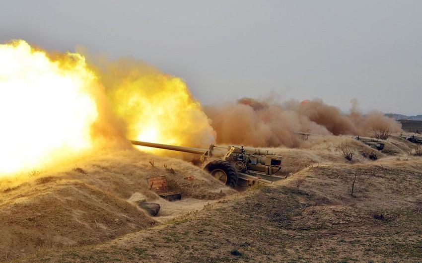 Azərbaycan ordusunun genişmiqyaslı təlimlərinin döyüş atışlı mərhələsi icra olunub