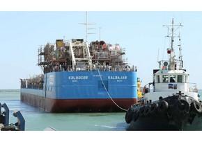 Azərbaycan istehsalı olan ikinci tanker inşasının növbəti mərhələsi üçün suya salınıb