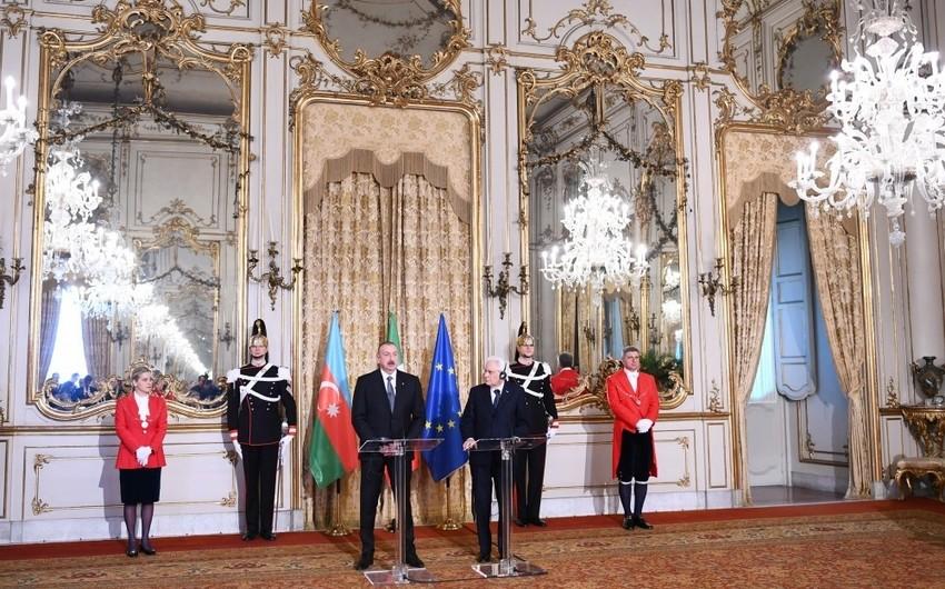Dövlət başçısı: NATO-Azərbaycan əlaqələri uğurla inkişaf edir