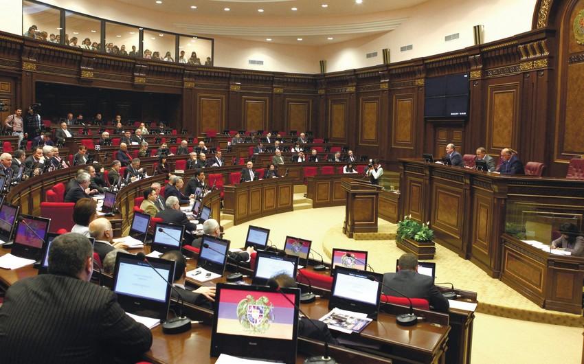 Ermənistan parlamentində komissiyaların sayı iki dəfə azaldılacaq