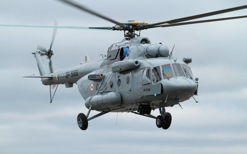 Əfqanıstanda taliblərin ələ keçirdiyi Mi-17 helikopterinin ekipaj üzvləri azad edilib