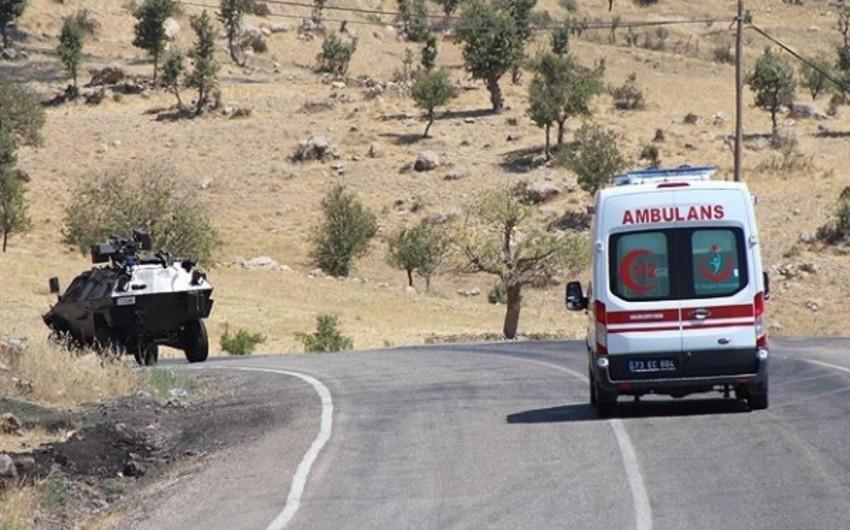 Türkiyədə terrorçuların hücumu nəticəsində 4 hərbçi şəhid olub, 4-ü yaralanıb