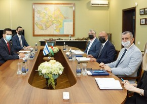 Обсужден вопрос участия Израиля в разминировании территорий Азербайджана