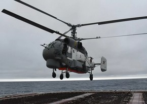 Rusiya FTX-nin helikopteri qəzaya uğrayıb