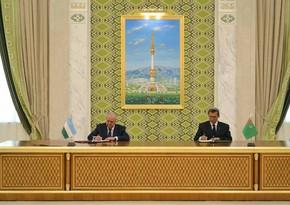 Туркменистан и Узбекистан подписали соглашения по водному хозяйству и землепользованию