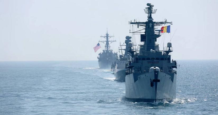 В Черном море начались учения НАТО с участием турецких военных