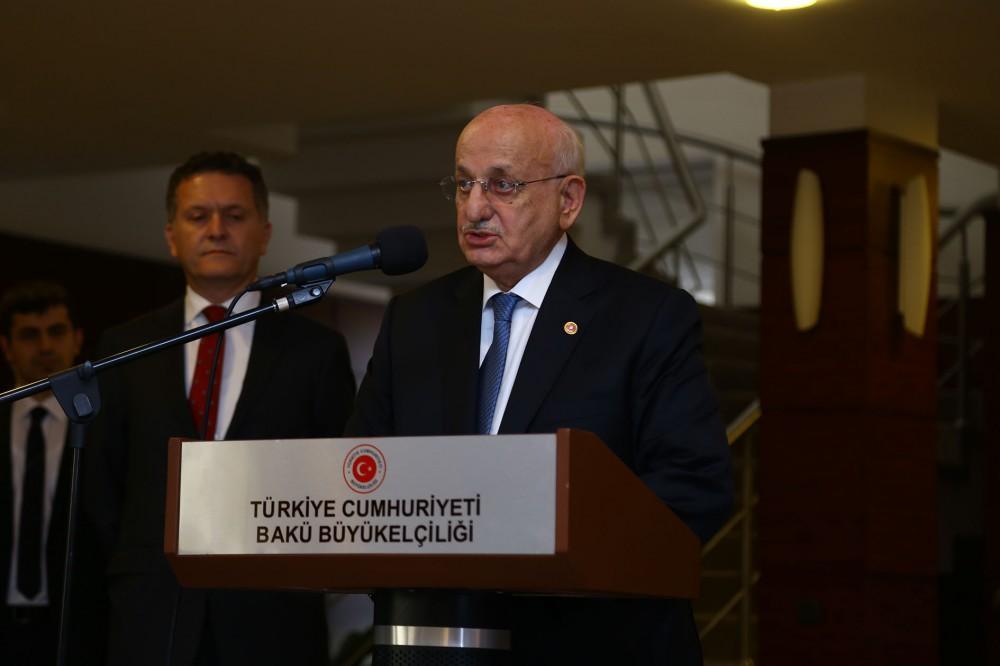 Ismail Kahraman: Azerbaijani-Turkish fraternity are eternal