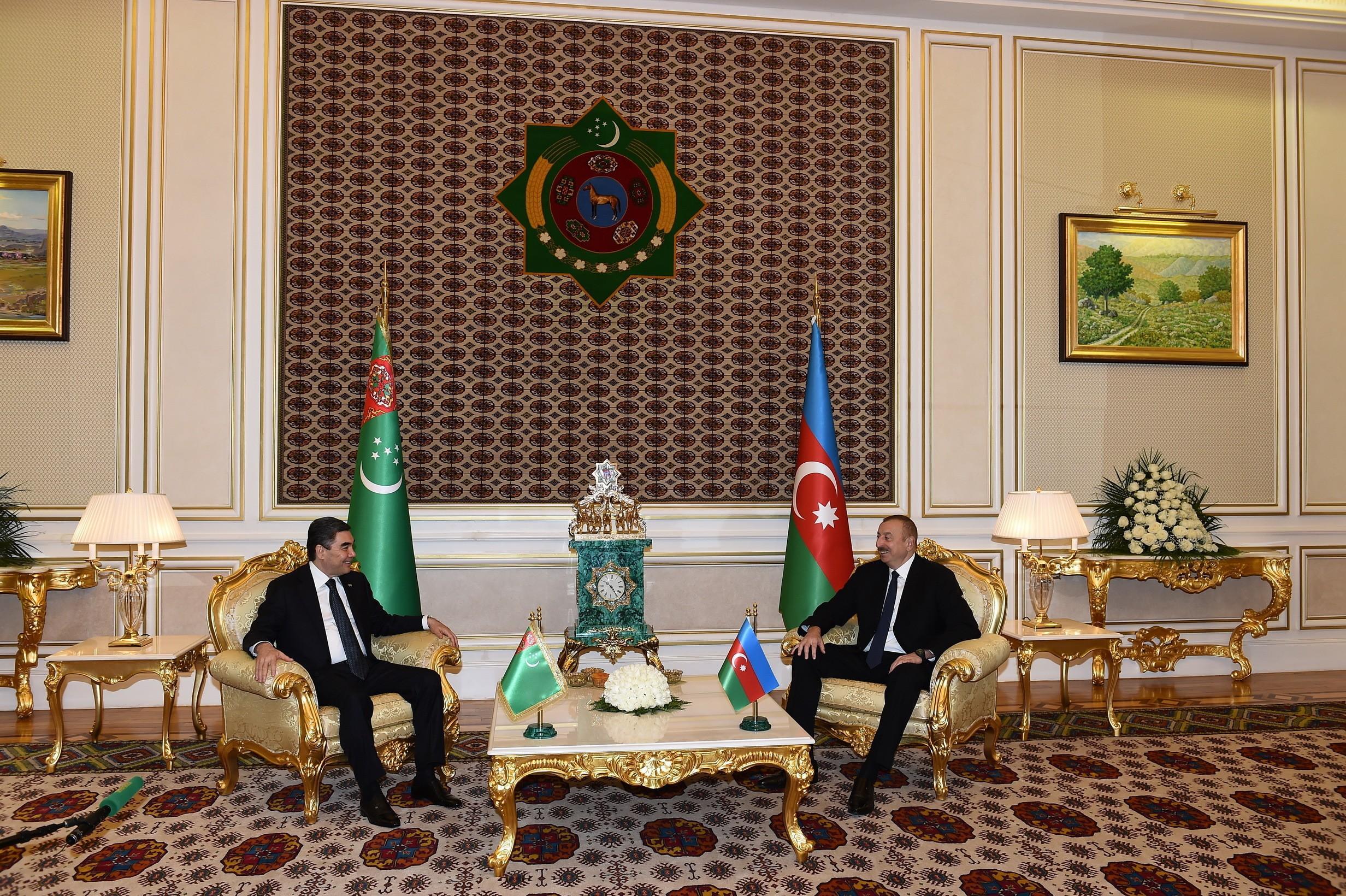 Президент Ильхам Алиев:  Мой визит в Туркменистан послужит делу укрепления наших братских отношений