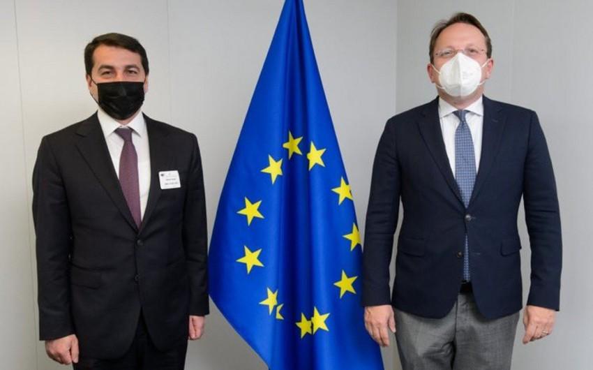 Хикмет Гаджиев встретился с официальным представителем ЕС