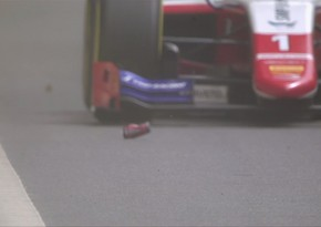 Bakıda keçirilən Formula 2 yarışında maraqlı hadisə yaşanıb