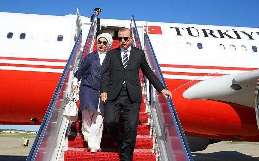 Türkiyə prezidenti Vaşinqtonda səfərdədir