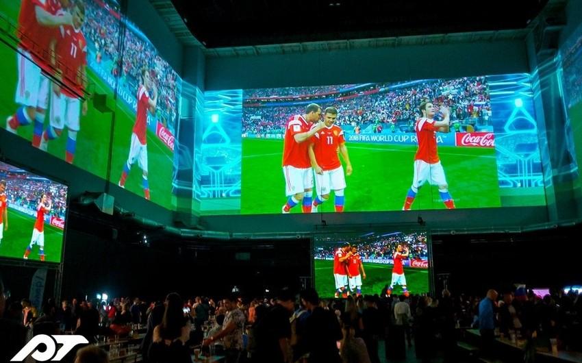 Финал предстоящей в Баку Лиги Европы покажут на самом большом проекционном экране в мире