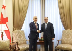 Georgian, Armenian FMs discuss situation in region
