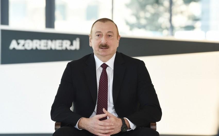 Prezident Azərbaycandan qovulmuş şirkətdən danışdı