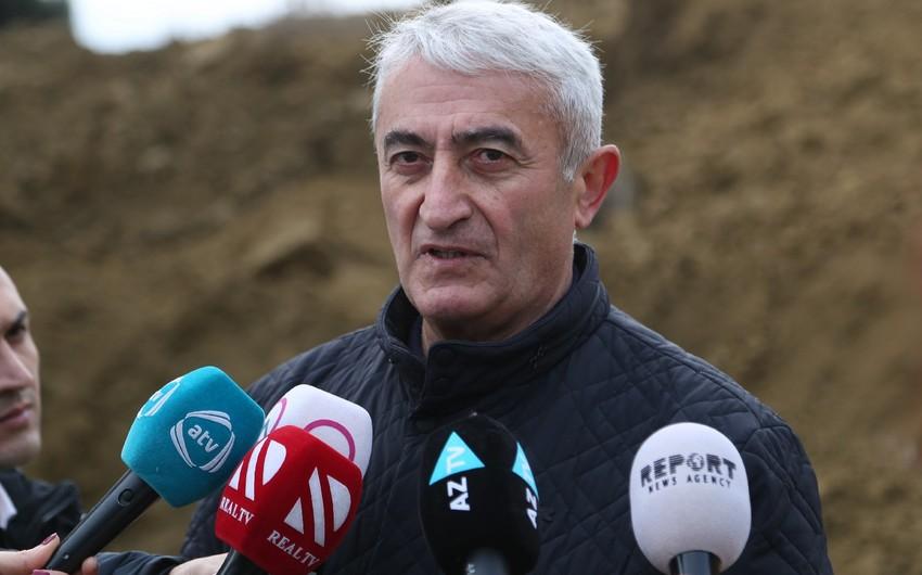 Азиз Гаралов: В районе оползневой зоны нет жилых домов