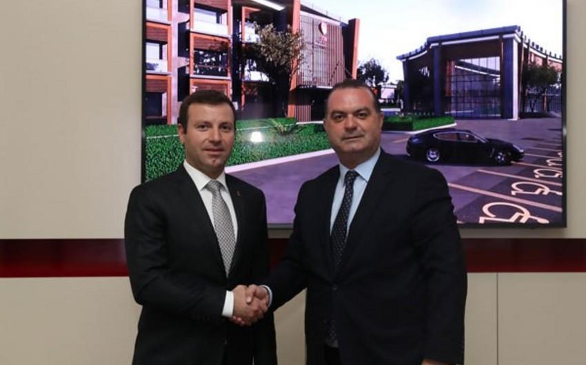 AFFA-nın baş katibi türkiyəli həmkarı ilə görüşüb