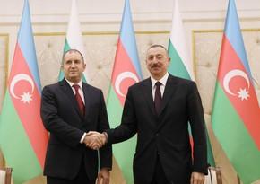 Rumen Radev: Bolqarıstan Azərbaycanla strateji əməkdaşlığı yüksək qiymətləndirir
