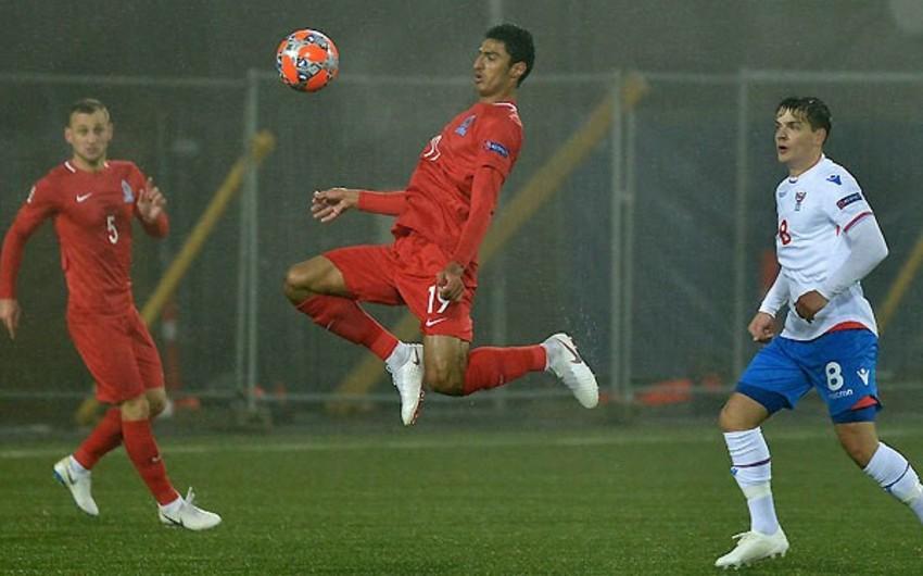 Азербайджан одержал первую победу в Лиги наций УЕФА