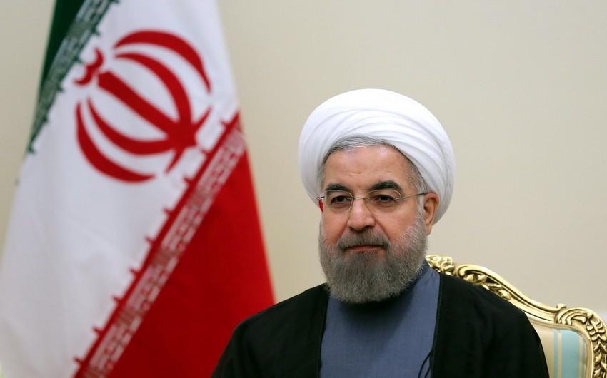 """İran prezidenti: """"Ərazi bütövlüyü Azərbaycanın haqqıdır"""""""