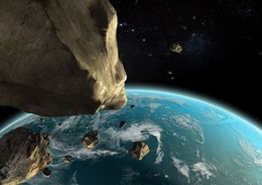 Potentially dangerous asteroid approaching Earth