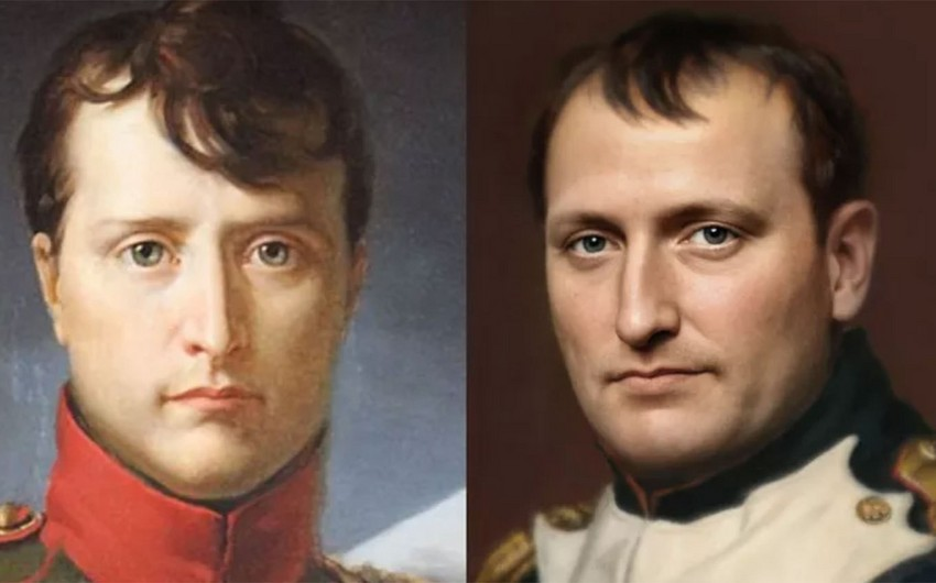 Napoleon Bonapartın fotoportreti yaradıldı