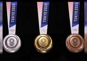 Tokio-2020: 11 dəst medalı 28 ölkə qazandı - SİYAHI