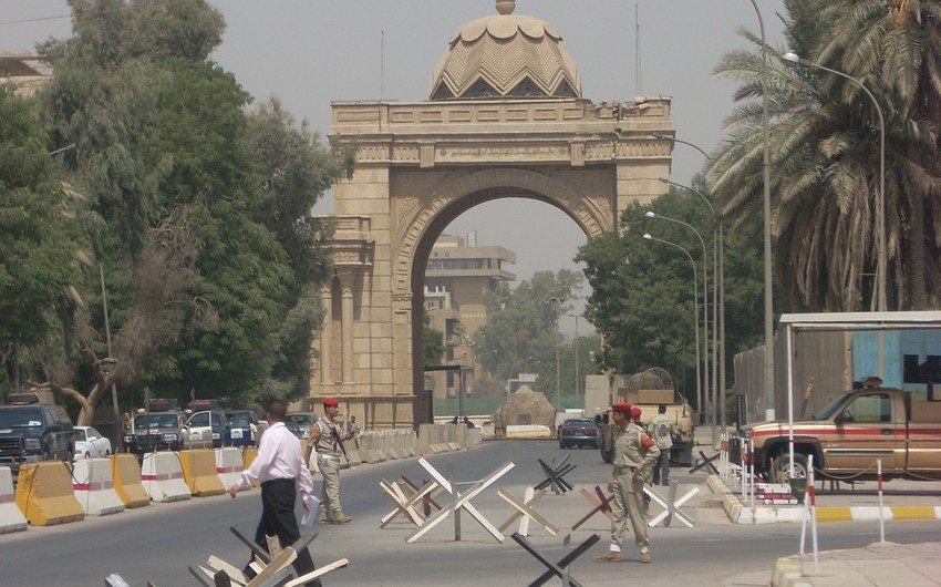 В Багдаде вблизи правительственной зеленой зоны прогремел взрыв