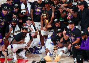 Los-Anceles Leykers 17-ci dəfə NBA çempionu oldu