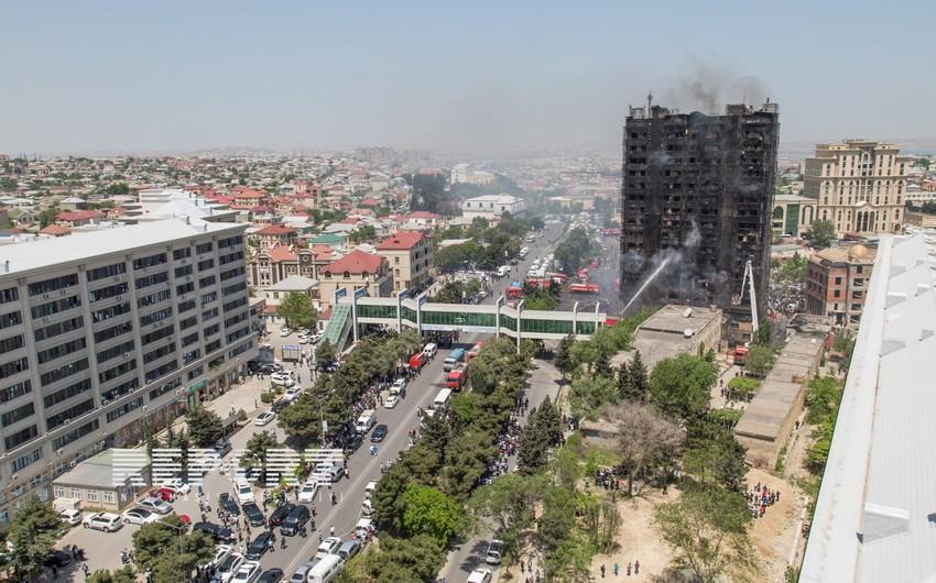 Binəqədidə yanan binada xəsarət alan jurnalistin anasına təzminat verilmir