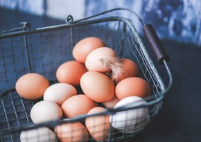 Azerbaijan's egg imports from Georgia up by almost 70%