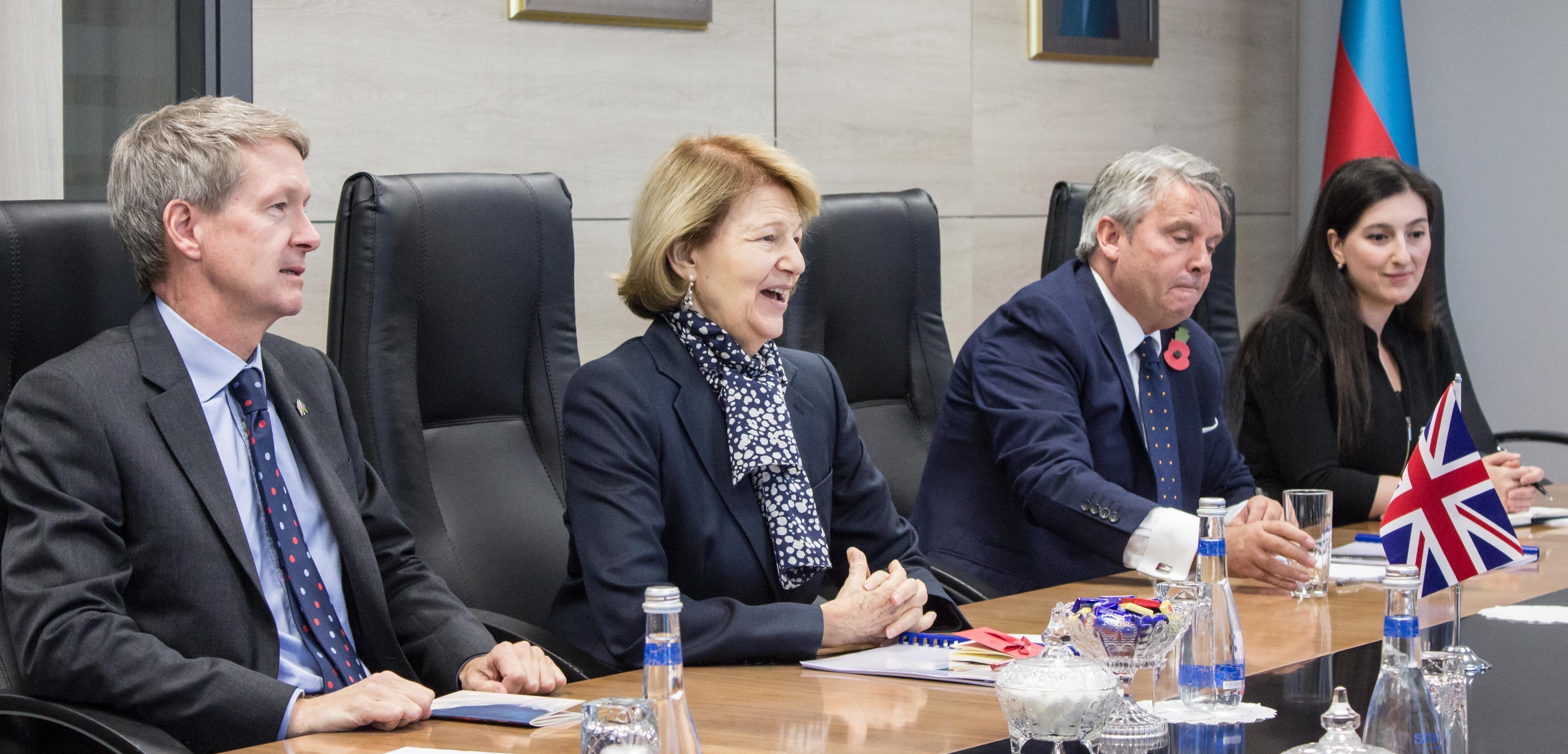 Azərbaycan və Böyük Britaniyanın enerji sahəsində əməkdaşlığı müzakirə olunub