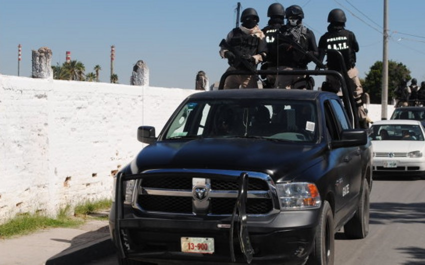Meksikada atışma nəticəsində 8 nəfər ölüb