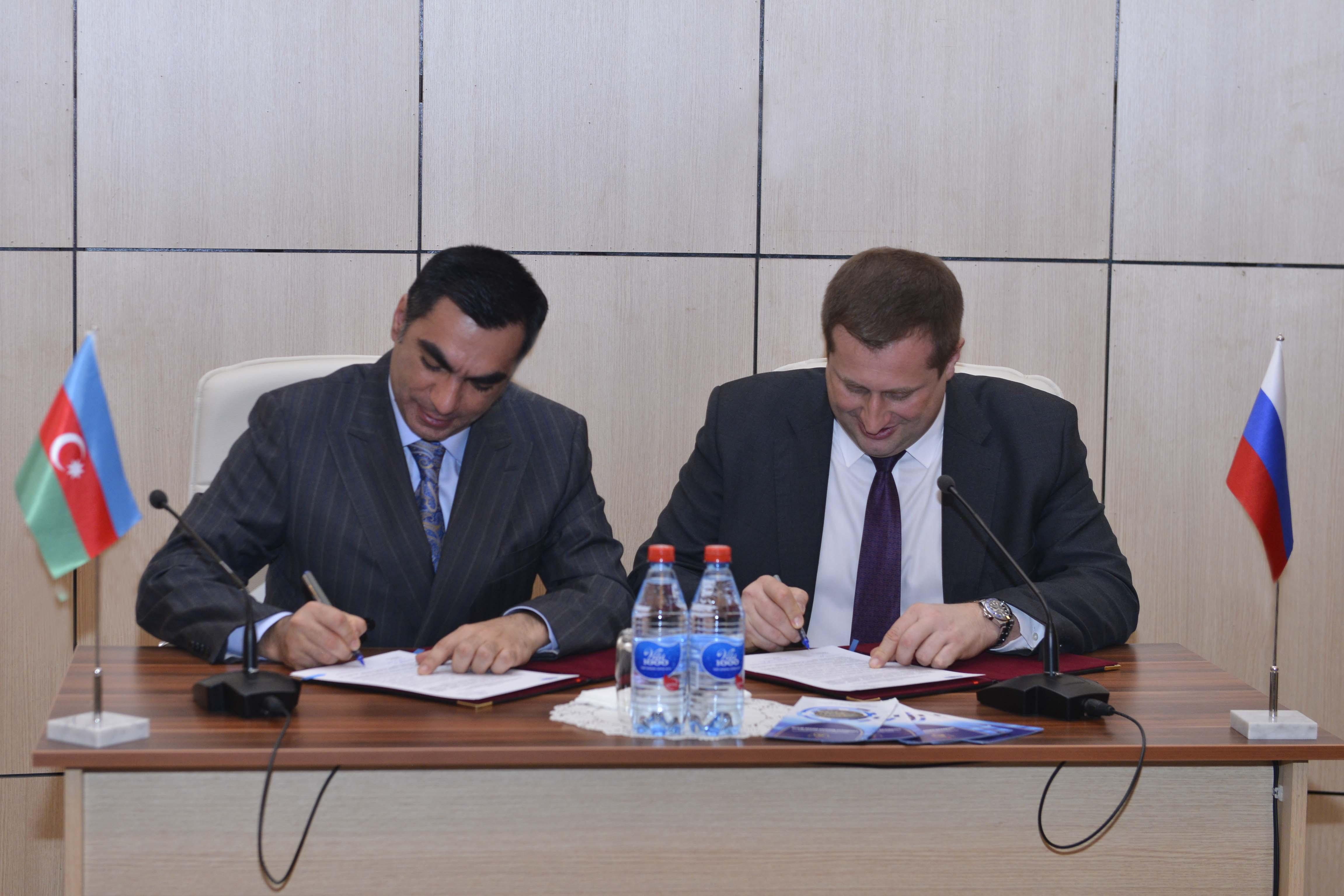 BANM və Moskva Dövlət Beynəlxalq Münasibətlər İnstitutu arasında anlaşma memorandumu imzalanıb