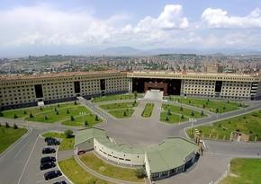 Ermənistan müdafiə nazirinin daha bir müavini istefa verib