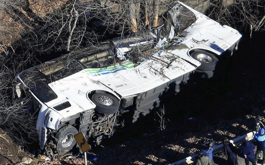 Nepalda baş verən avtobus qəzasında 14 nəfər ölüb