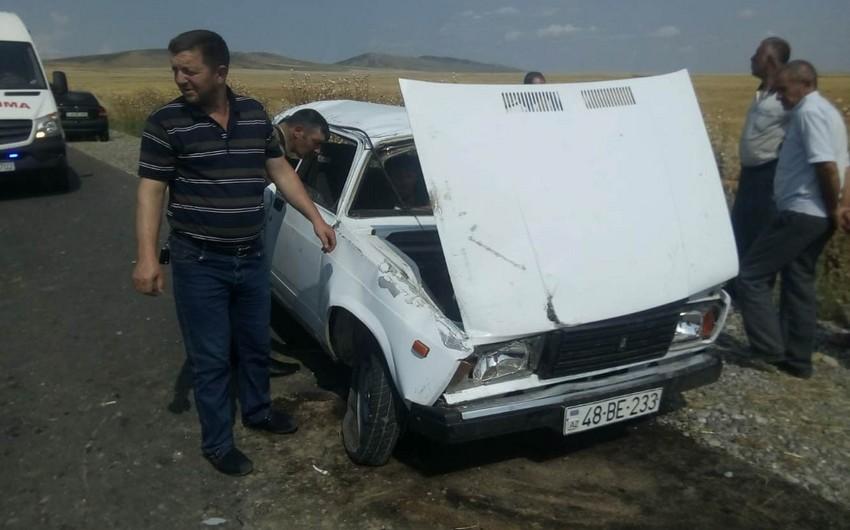 Oğuzda avtomobil aşıb, ölən və yaralananlar var - FOTO - YENİLƏNİB